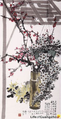 Chinese Traditional Painting by Cai Yu_Life of Guangzhou