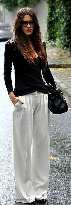 Fall New Ideas - White + Black by Maritsa