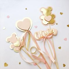 Excited to share the latest addition to my shop: Personalized Centerpieces Teddy Bear Girl Birthday Decorations Teddy Bear Baby Shower Custom Cake Topper Blush Rose Gold Girl Birthday Deco Baby Shower, Baby Shower Table, Shower Cake, Baby Girl Birthday, Birthday Diy, Turtle Birthday, Bear Birthday, Turtle Party, Carnival Birthday