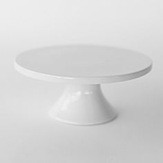 'Small Modern White Cake Plates', on Minted.com