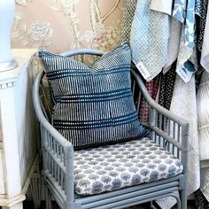 Awesome, New, Designer Fabric in West Hollywood, CA - Classic Casual Home Wicker Furniture, Home Decor Furniture, Fabulous Fabrics, Cottage Living, Small Space Living, Diy On A Budget, West Hollywood, White Paints, Old Houses