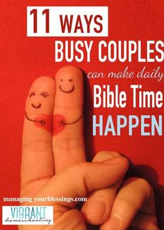 11 Ways to Make Couples Devotions A Habit :: Alicia shares 11 Ways to Make Couples Devotions A Habit in the 31 Days to a Better Marriage series :: ManagingYourBlessings.com