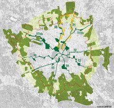 green rays | milan | urban planning