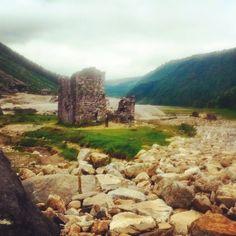 Glendalough miner's village