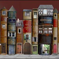 Vilarejo de Livros de Marie Montard.