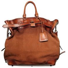 Fancy - Burberry Prorsum S/S 2013 Mill Suede Leather Handbag