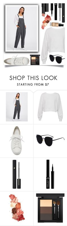 """Casual Friday"" by stxgma ❤ liked on Polyvore featuring Sans Souci, Santoni, Arbonne, Lancôme, Giorgio Armani, Lime Crime, MAC Cosmetics and Bobbi Brown Cosmetics"
