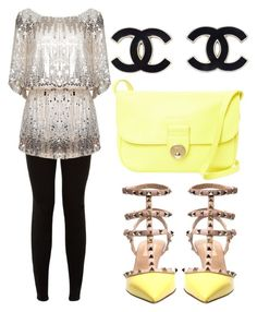 """Glam"" by megmdesigns on Polyvore featuring See by Chloé and Valentino"