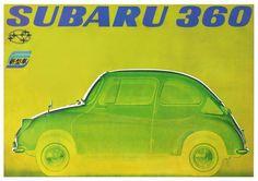 #Subaru #360 #Brochure from Japan: Cover. #retro #vintage #advertising