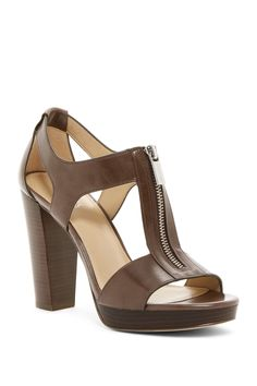 b98f6d3e9b9 Berkley Cutout Leather Sandal by MICHAEL Michael Kors on  nordstrom rack  Leather Sandals