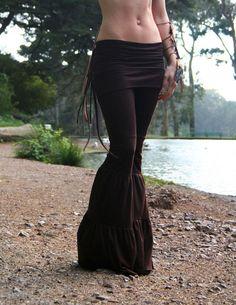 Organic bamboo pants for tribal . . . so cute!