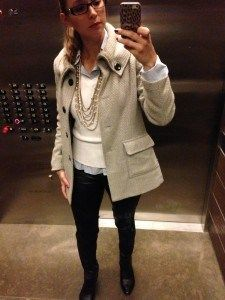 Winter coats outfits #fashion #moda leather pants