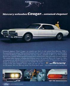 1967 Mercury Cougar.