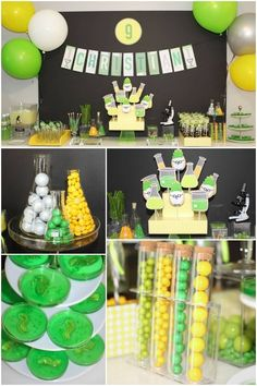 Mad Science Birthday Party Food Ideas
