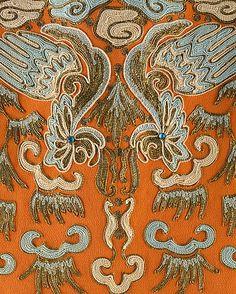 Cornely machine embroidery on an ensemble by Maisons Agnès-Drécoll, c1930.
