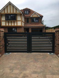 61 best gate design inspiration aluminium images gate design rh pinterest com