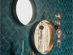 Round wall-mounted mirror WISH - Cattelan Italia