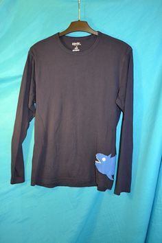 Recyklo+tričko+se+žralokem+pro+chlapa...+Vel.+48/50,+nošené+velmi+málo+(cca+2x).+Šířka+v+podpaží+volně+až+2*50,+délka+70+cm.Rukávy+od+švů+62+cm.+Štítek+uštřižen,+100%+bavlna.