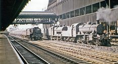 This is how I remember Victoria Station, Manchester when we used to go on holiday !