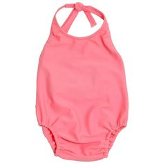 Caramel Baby And Child Kids-girls Lycra One Piece Swimsuit ($91) ❤ liked on Polyvore featuring baby girl, baby, baby clothes, kids and pink