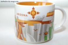 You Are Here In Arizona Starbucks Arizona State Mug