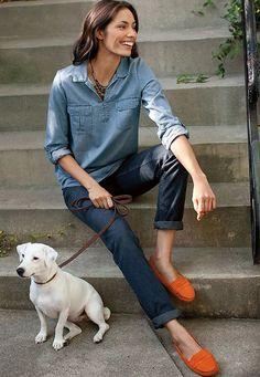 mocassim-laranja-jeans