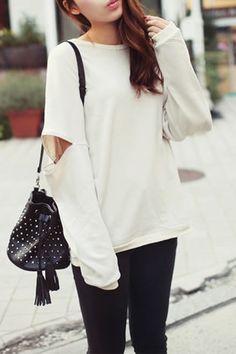 @STYLESTALK www.stylestalk.com Unzipped Oversized Sweater $79