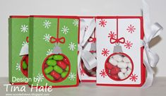 Tic Tac Christmas by tinahale38 - Cards and Paper Crafts at Splitcoaststampers