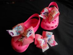 Bows for my Toes My Little Pony by GrandmasBowsonETSY on Etsy, $15.00