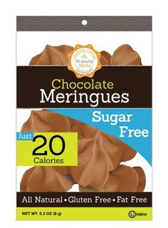Krunchy Melts Meringues Sugar Free Chocolate