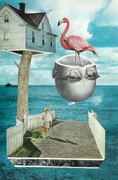 Ben Gifaldi's handmade collages and poetry - Loves by Domus