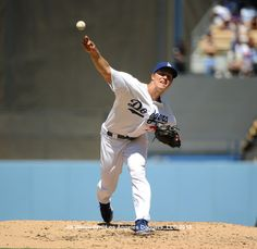 Zack Greinke was masterful again, yesterday afternoon.  Pic via Jill Weisleder/LA Dodgers 2013.