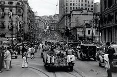 Carnaval na avenida São João.