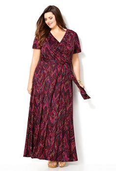 Shop Plus Size Maxi Dresses | Avenue.com