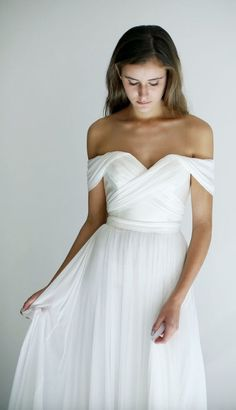 Featured Dress: Leanne Marshall; Wedding dress idea.