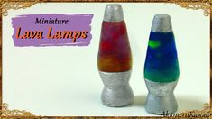 Hi guys! Today we're making these cute miniature Lava Lamps all from polymer clay ^^ Good to know: I work in 1:12 scale, but you can make them in any size yo...