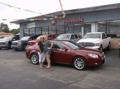 Teresa Barnick of Brownstown and her new 2011 CHEVROLET MALIBU! Congratulations and best wishes from Hosick Motors, Inc. and BRIAN MAJOR.