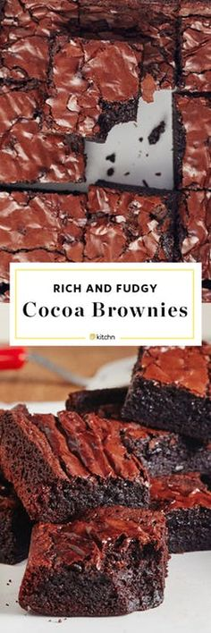 Rich, fudgy, and made from pantry staples.