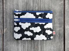 "Täschchen ""Wolken"" von blandine taschen  auf DaWanda.com Coin Purse, Purses, Etsy, Clouds, Sachets, Bags, Handbags, Purse, Coin Purses"