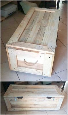 Catch out the shining appearance of the recycled pallet wooden planks and design.