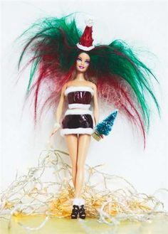 Напечатано Косы Куклы : Барби Дизайн Печати