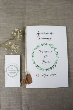 Wedding Programs, Wedding Ceremony, Marry Me, Dream Wedding, Place Card Holders, Engagement, Etsy, Designer, Calligraphy