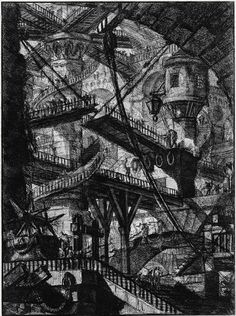 Fantastic Libraries   tygertale Jorge Luis Borges's The Library of Babel, illustrated by Érik Desmazières