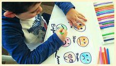 trabajar las emociones con los niños