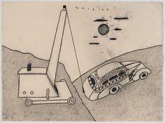david lynch paintings - Buscar con Google