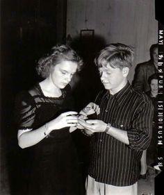 Judy Garland & Mickey Rooney, 1939.