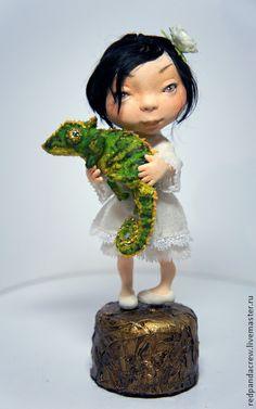 Коллекционные куклы ручной работы: Любимец. Handmade.