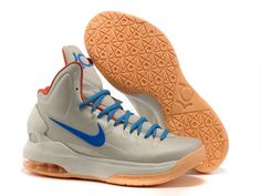 online store a2c2c 34951 Cheap Discount Nike Zoom KD V Birch Photo Blue-Sail-Team Orange 554988 200  Basketball Shoes Shop