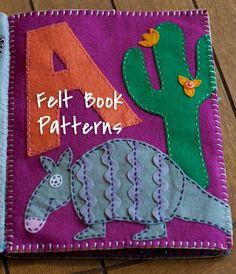 Craitlyn: Felt Name Book Patterns