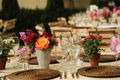 For the dinner, the organizers created 82 natural wood tables with tree-trunk bases and set crystal, china, and silver pieces...
